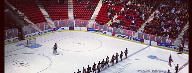 Herb Brooks Arena is one of Lake Placid.