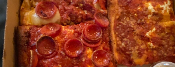 Village Square Pizza is one of Pizza.