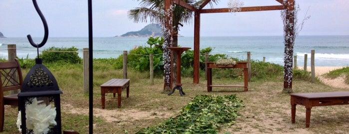 Grumari Beach Garden is one of Passeios.