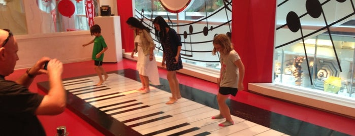 FAO Schwarz is one of New York.
