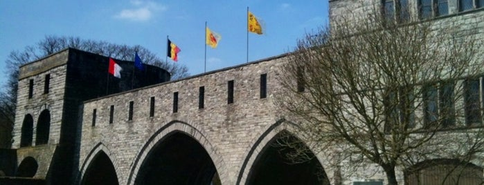 Pont des Trous is one of Tournai.