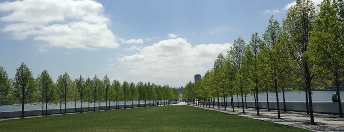 Four Freedoms Park is one of NYC.