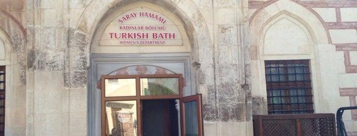 Edirne Tarihi Saray Hamamı is one of Edirne.