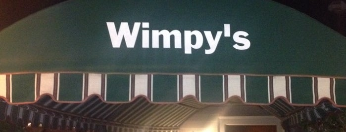 Wimpy's is one of Lugares favoritos de Jon.