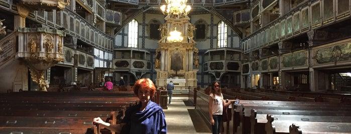 Kościół Pokoju is one of UNESCO World Heritage Sites in Eastern Europe.