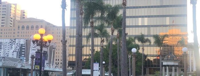 Horton Plaza Park is one of Lieux qui ont plu à Sergio M. 🇲🇽🇧🇷🇱🇷.