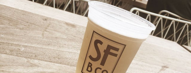 San Francisco Brewing Co. Beer Garden is one of SfCo.