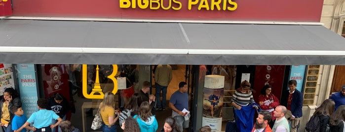 BigBus Paris is one of Tempat yang Disukai David.