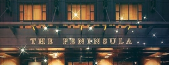 The Peninsula is one of Chicago things to do.