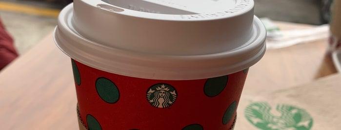 Starbucks is one of René 님이 좋아한 장소.