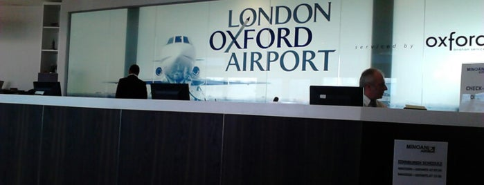 London Oxford Airport (OXF/EGTK) is one of Андрей Тимофеев'ın Kaydettiği Mekanlar.