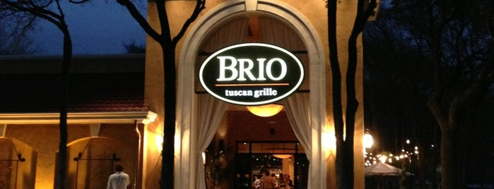 Brio Tuscan Grille is one of Austin Happy Hr Places.