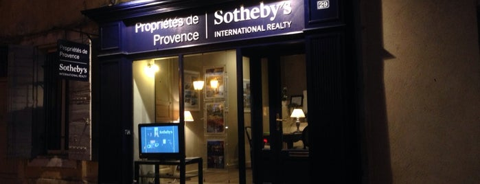 Propriétés de Provence Sotheby's International Realty is one of Provence adresses.