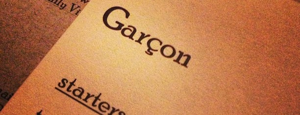 Garçon! is one of mission.