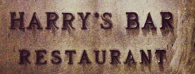 Harry's Bar is one of Firenze to-do.