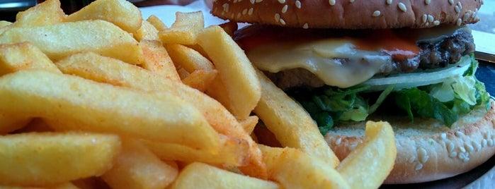 Kreuzburger is one of Burger in Berlin.