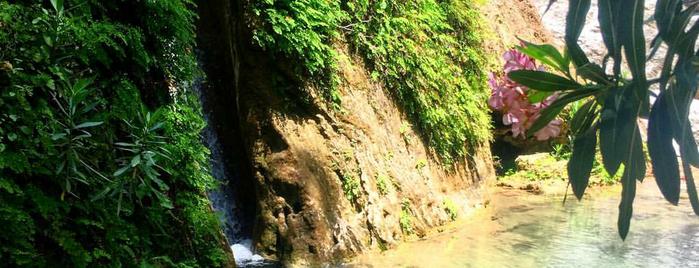 Aladere Şelaleleri is one of Fethiye.