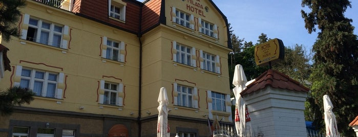 Villa Milada Hotel is one of สถานที่ที่ Veronika ถูกใจ.