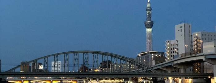 Sumida River is one of JAPAN TOKYO.