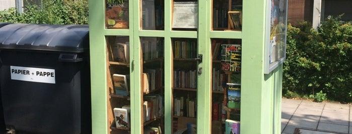 Offener Bücherschrank Offenbach is one of Givebox / Bücherschrank.