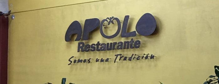 Restaurante Apolo is one of Locais curtidos por Daniel.