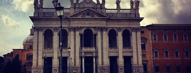 Basilica di San Giovanni in Laterano is one of ROME.