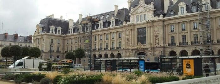 Place de la République is one of Rennes.