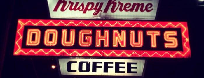 Krispy Kreme is one of Welcome to Raleighwood! #visitUS.