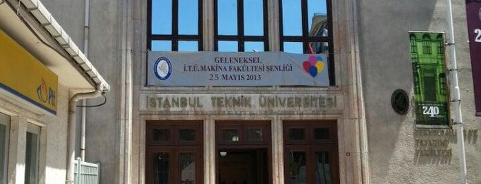 Makina Fakültesi is one of Mustafa's Liked Places.