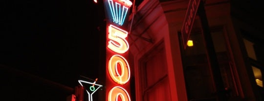 500 Club is one of Northern CALIFORNIA: Vintage Signs.
