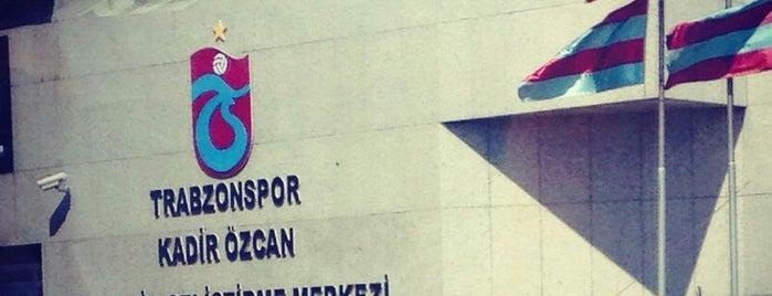 Trabzonspor Kadir Özcan Gençlik Geliştirme Merkezi is one of Lieux qui ont plu à Hakan.