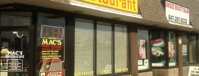 Mac's Restaurant is one of สถานที่ที่ Jennifer ถูกใจ.