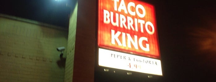 Taco Burrito King is one of Love.