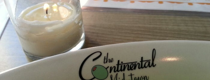 The Continental Mid-Town is one of Philly.