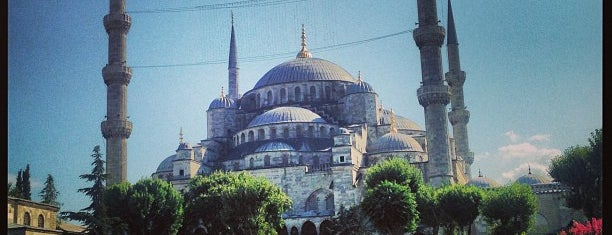 Blaue Moschee is one of istanbuli.