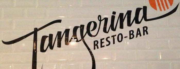 Tangerina Resto-bar is one of Lugares favoritos de Sarah.