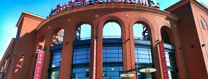 Busch Stadium is one of MLB.
