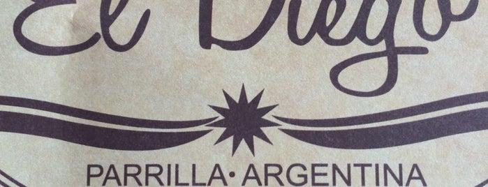 El Diego Parrilla Argentina is one of Lieux qui ont plu à Francisco.