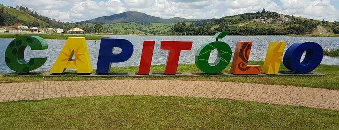 Capitólio is one of Tempat yang Disimpan Mel.