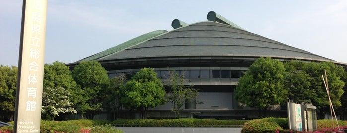 Hiroshima Prefectural Sports Center is one of Tempat yang Disukai issinta.