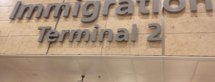 Terminal 2 Immigration (Arrivals South) is one of Singapore.