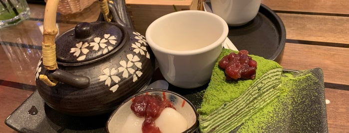 Maccha House is one of Place for work.