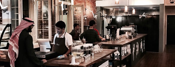 Five Elephants - Speciality Coffee shop is one of Riyadh.