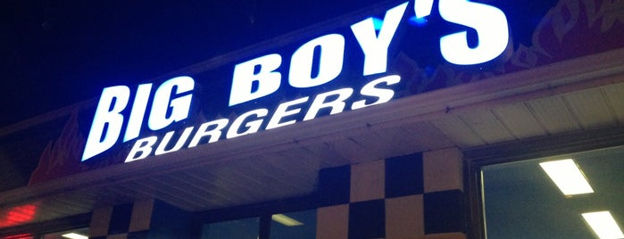 Big Boys Burgers is one of Burger Joints.
