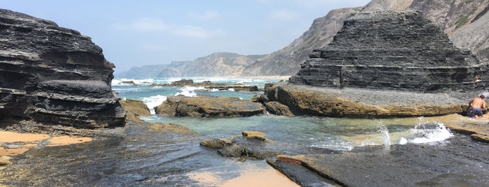 Praia da Cordoama is one of Portugal.