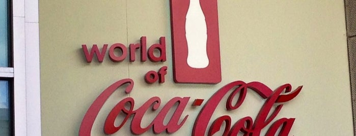 World of Coca-Cola is one of Atlanta.