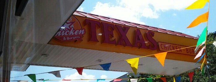 Texas Chicken & Burgers is one of Favorites.