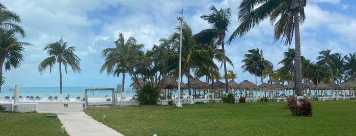 Playa Kinha is one of Cancun.
