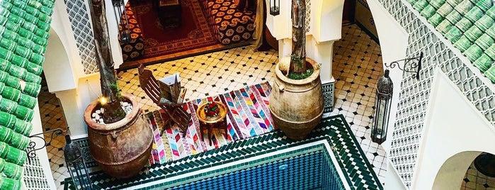 Riad Jemaa El Fna & Spa is one of Morroco.