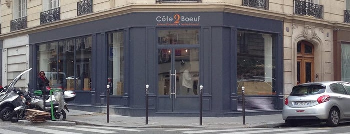 Côte2boeuf is one of shops.